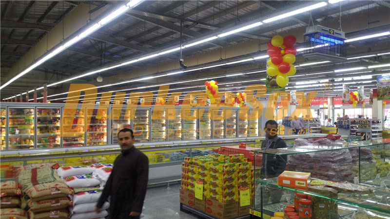 Fabric Duct for Othaim Markets Kharj Store Ventilation