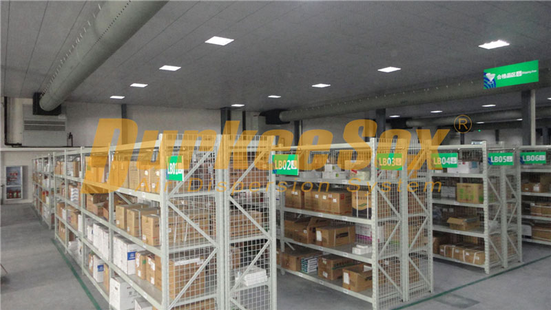 Sinopharm Xiangyang Warehouse Ventilation Project